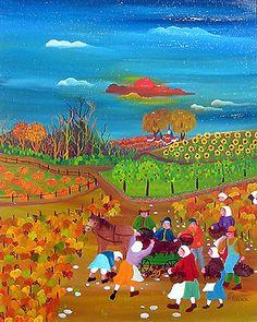 France ~ Chantal Maurer ~ Harvest