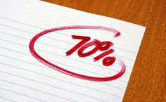 Just because a student has average grades in high school doesn't mean he or she won't succeed in college.