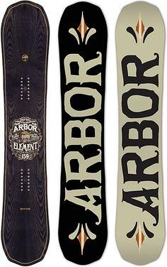 Arbor Element Snowboard - Men's - Snowboarding - 2015