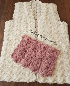 Ideas For Crochet Heart Hat Pattern Free Knitting Cable Knitting Patterns, Knitting Stiches, Lace Knitting, Knitting Designs, Crochet Patterns, Crochet Lace, Diy Crafts Crochet, Knit Vest Pattern, Knitted Slippers