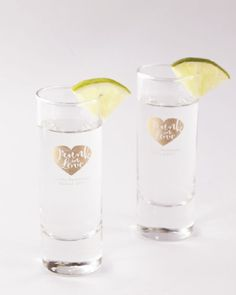 Celebrate the bachelorette party with the perfect shot glasses!