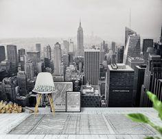 New York bw Tapet