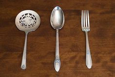 How I collected 5 generations of silver plated flatware | eBay