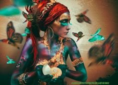 Spiritual..  A butterfly is like the soul of a person, it dries out in captivity. ~Marlene Van Niekerk~