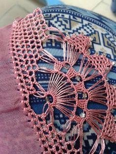 Crochet World February 2019 - Louisa Crochet Picot Edging, Crochet Borders, Crochet Motif, Crochet Lace, Crochet Stitches, Crochet Patterns, Crochet Summer, Free Crochet, Braidless Crochet