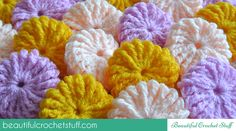 Yo-Yo Puff Step-by-Step Tutorial.  Jane with Beautiful Crochet Stuff is a genius.  She's my new best friend!