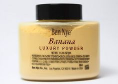 To Even Skin Tone After all your other makeup, dust a yellow hue over your face to tone down any redness and brighten any stubborn blue under-eye shadows. Ben Nye banana powder ($12) Read more: 6 Hollywood Makeup Tricks You Can Do at Home   PureWow Los Angeles Sign Up For PureWow's Daily Email