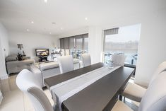 As practical as it's stylish, the Capital Fascia makes the difference. Modular Design, Roller Blinds, Dining Table, Stylish, Modern, Furniture, Collection, Home Decor, Dining Room Table