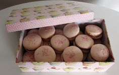 A box of macarons
