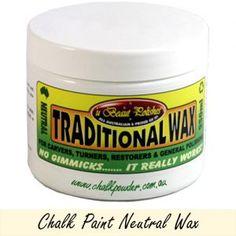 Chalk Paint Neutral Wax