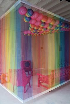 'The Rainbow Room' by Pierre Le Riche