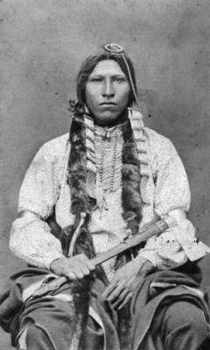 Red Blanket, a Native American (Cheyenne) man. 1880