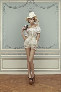 Ulyana Sergeenko HC S13 look book