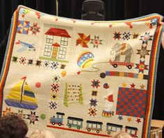 Diary of a Quilter - a quilt blog: Sandy Klop/American Jane Trunk Show Part 2