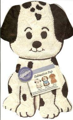 Wilton Dalmation Pup Puppy Dog Cake Pan (2105-9334, 1993) Wilton,http://www.amazon.com/dp/B002OFK1QM/ref=cm_sw_r_pi_dp_c56ntb1R5FPEQY5Y