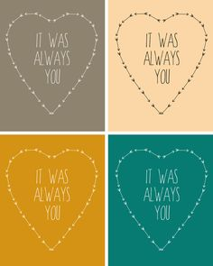 it was always you FREE Printable!