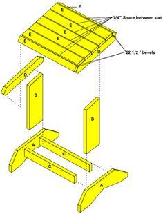 Great Southern Wood Preserving - YellaWood® Adirondack Footstool - Build It!