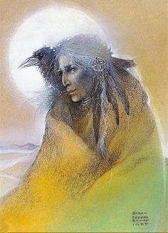 Rave woman - Susan Seddon Boulet