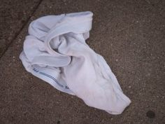 Mens underwear discarded at 7443 N. Paulina | Rogers Park Chicago