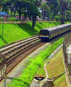 Metro de Caracas http://www.travelandtransitions.com/destinations/destination-advice/north-america/