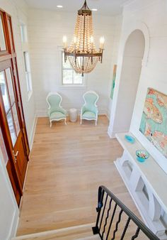 foyer of a WaterColor beach home