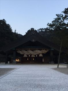 Izumo-Takisha Izumo Grand shrine. In Shimane Japan