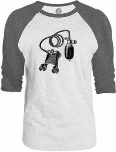 Big Texas Vintage Pump 3/4-Sleeve Raglan Baseball T-Shirt