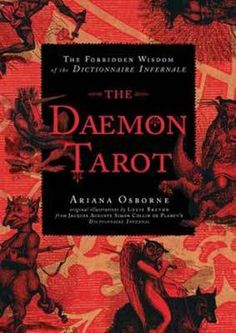 Title: The Daemon Tarot: The Forbidden Wisdom of the Infernal Dictionary, Author: Ariana Osborne Tarot Card Decks, Tarot Cards, Mala Mantra, Japanese Art Styles, Special Prayers, Oracle Cards, Deck Of Cards, Wisdom, Tarot Decks