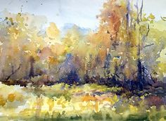Todays Light by Sarah Yeoman Watercolor ~ 11 x 14