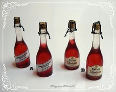 Rose Wine of Lambrusco 1/12 Scale