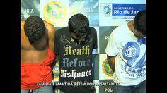 Trio faz família refém em assalto na zona norte do Rio - Vídeos - R7