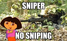 Sniper rifles allow specialist soldiers to hit intended targets from long distances. What are the best sniper rifles in the world today? Airsoft Sniper, Dora Memes, Dora Funny, We Are The Mighty, Army Wallpaper, Hd Wallpaper, Camouflage Wallpaper, High Resolution Wallpapers, Culture