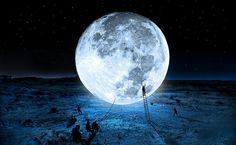 Catch the moon for you ...