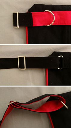 How to make an adjustable strap with D-Rings and slider