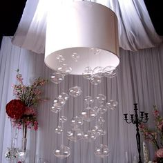 Beautiful Bubbles Chandelier - White
