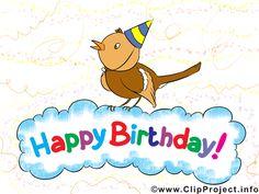 Joyeux anniversaire  images gratuites clipart