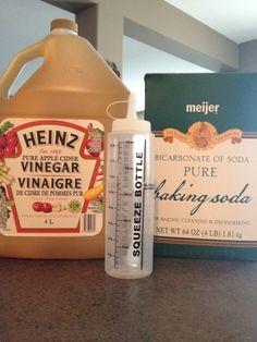 Baking Soda & Apple Cider Vinegar Hair Wash
