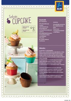Szilvás muffin recept az ALDI-tól Izu, Mini Cupcakes, Muffin, Food, Essen, Muffins, Meals, Cupcakes, Yemek