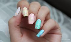 Casuelle Nail Art Neon Confetti Collection (1 - 6 )
