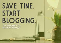 The Not-So Secret To Getting Traffic through blogging on your freelance website that saves time with clients.
