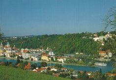 Passau -Dreiflüssestadt- (Bavaria)