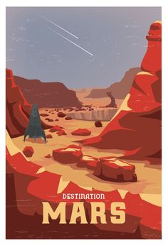 Art Prints In addition to designing things for clients, I also create artwork for myself. Check out my online shop for books and art prints that I have created. Space Tourism, Space Travel, Space Wallpaper, Space Opera, Arte Sci Fi, Plakat Design, Space Illustration, Vintage Space, Poster Prints