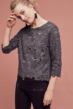 Lucca Lasercut Sweater