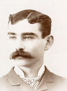 Vintage Photo,Victorian Man, Charlotte,Michigan