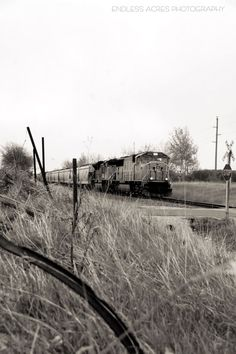 Westbound Union Pacific Train near Elk Mound, Wisconsin. April 2012  Photo by Kelly Whitman
