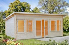 Palmako Trinity Log Cabin from Greenhouse Stores with FREE UK home delivery.   http://www.greenhousestores.co.uk/Palmako-Trinity-Log-Cabin.htm