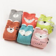 Cute Newborn Socks , Baby Socks Animal,Fox Socks