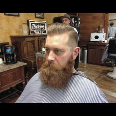 Parted Pompadour & Beard Trim for @nidgeman (featuring Mad Killa aka @kilianmaddison ) Finished with @officiallayrite #superhold #pomade & @firstolympian #zeus #beardoil #pompadour #layrite #stayrightwithlayrite #truebarberproducts #savillsbarbers #barberlife #barberforlife #noschoolbuttheoldschool #ilovemyjob #barberconnect #britishmasterbarbers #supportyourlocalbarber #ukbarber #sheffield by bornlucky79