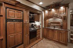 < Heartland Luxury Fifth Wheels | Heartland RV Like the kitchen in back