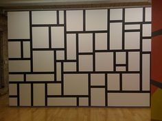Sol LeWitt wall painting in current show of his work at Mass MOCA.